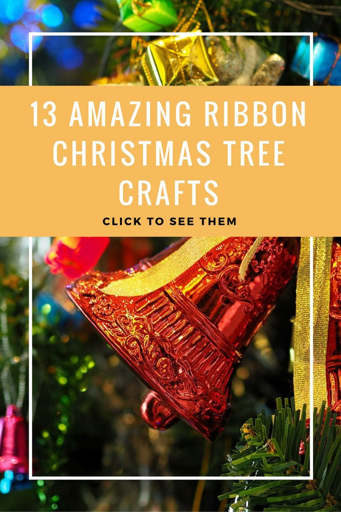 13 Amazing Ribbon Christmas Tree Crafts