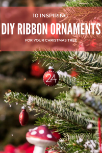 10 Inspiring DIY Ribbon Ornaments For Your Christmas Tree