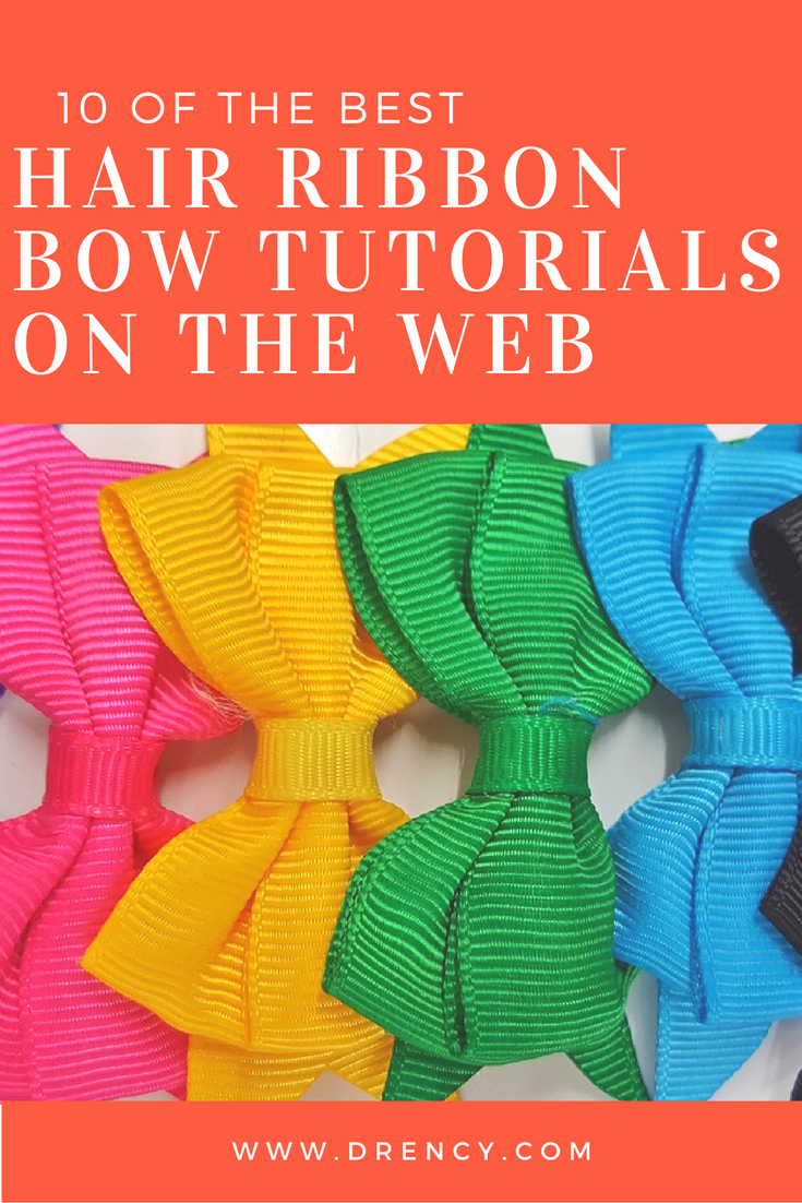10 Of The Best Hair Ribbon Bow Tutorials On The Web