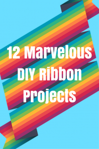12 Marvelous DIY Ribbon Projects