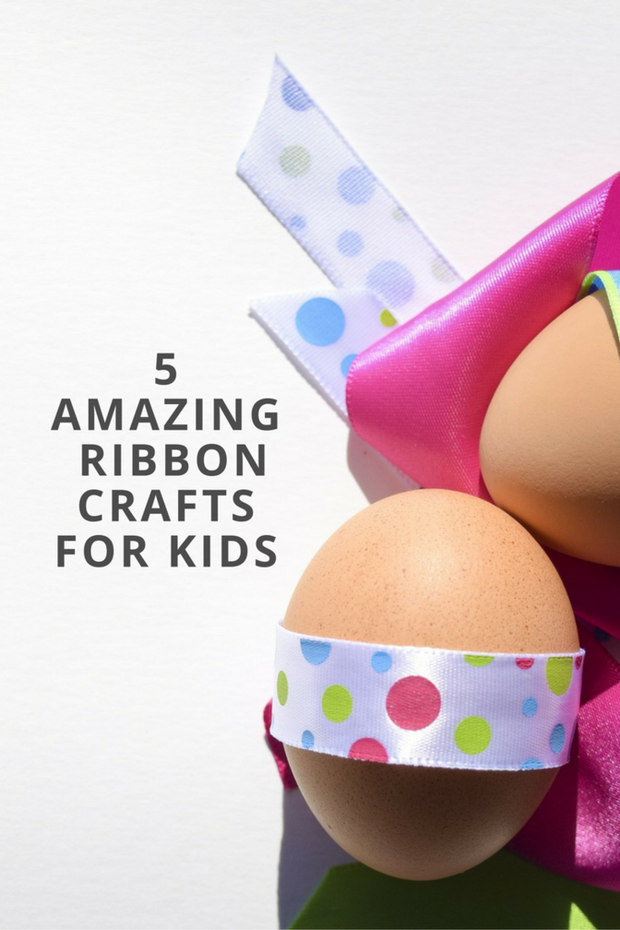 5 Amazing Ribbon Crafts For Kids