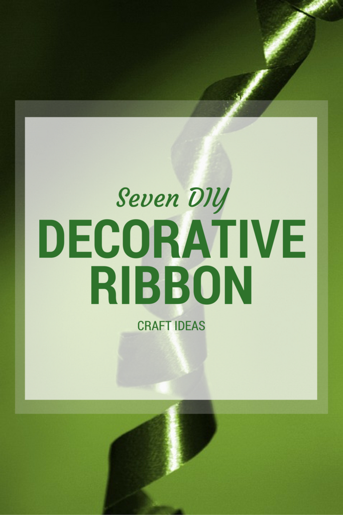 7 DIY Decorative Ribbon Crafts Ideas