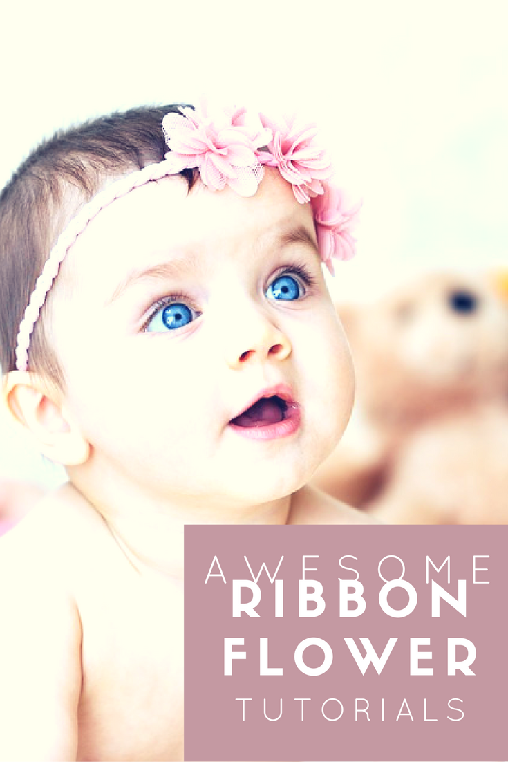 Awesome Ribbon Flower Tutorials