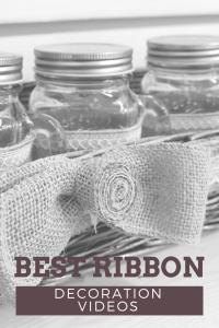 Best Ribbon Decoration Videos