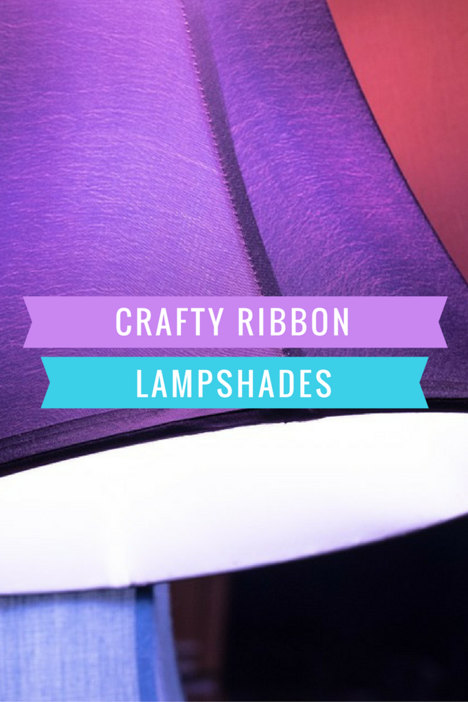 Crafty Ribbon Lampshades