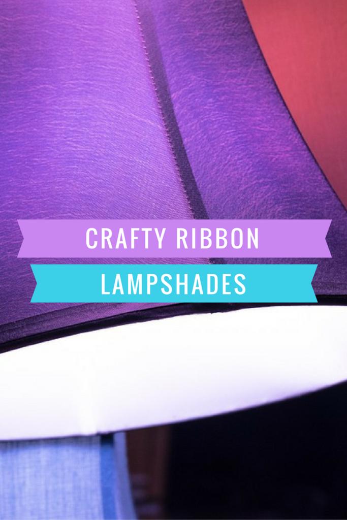 Crafty Ribbon Lampshades