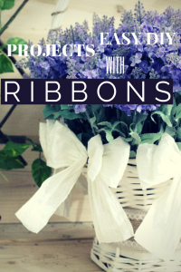 Easy DIY Projects With Ribbons