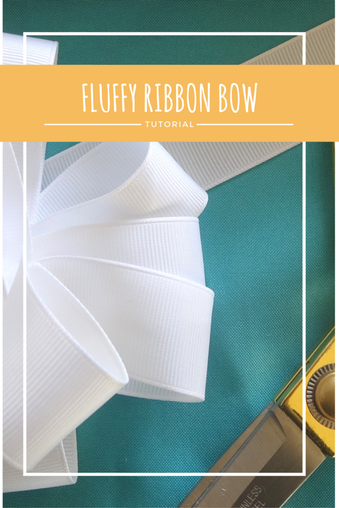 Fluffy Ribbon Bow Tutorial