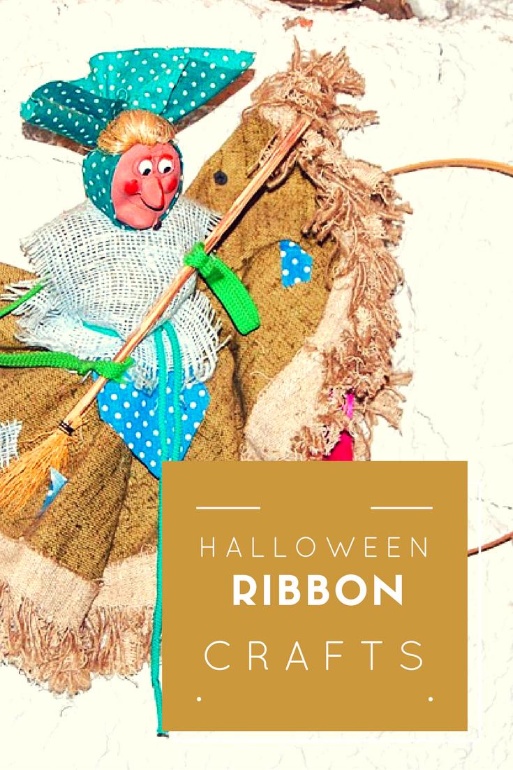 Halloween Ribbon Crafts