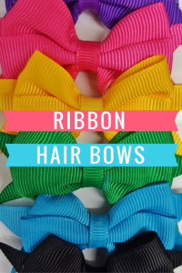 Ribbon Hair Bows