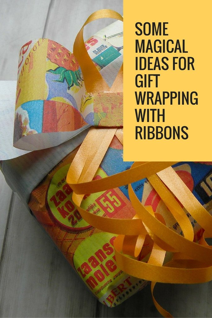 Some Magical Ideas For Gift Wrapping With Ribbons