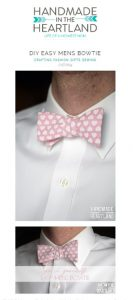 DIY Easy Men's Bow Tie