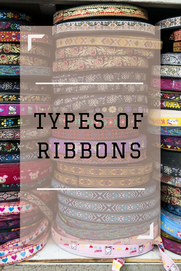Types of ribbons