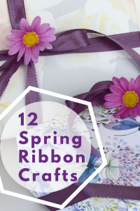 Spring ribbon crafts