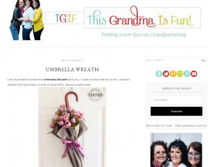 Umbrella flower pot