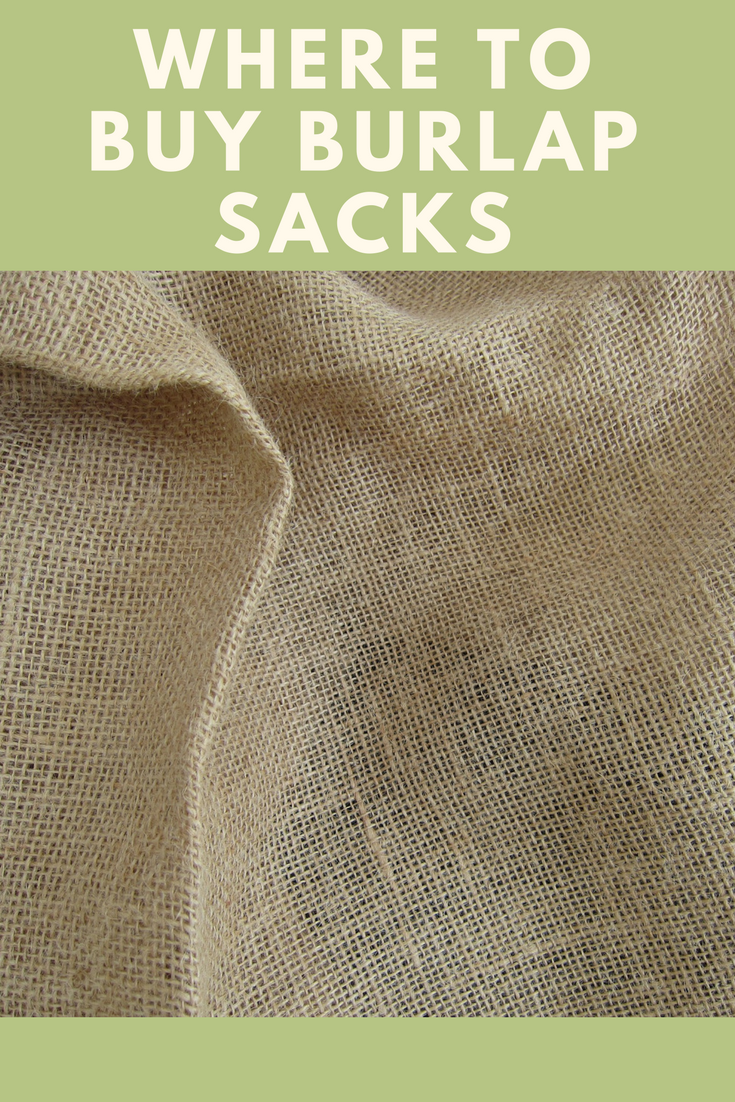 Buy burlap sacks