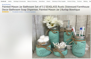 Bathroom set decor