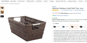 Rustic basket