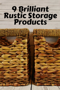 Rustic storage products