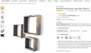 Shelves rustic