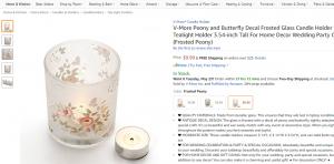 Vintage candle holder